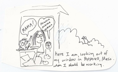 Original doodle by Annette LeBlanc Cate