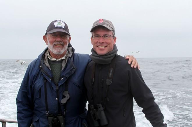 Sandy Komito and Neil Hayward, Halfmoon Bay CA. Photo taken by Debi Shearwater and supplied by Neil Hayward