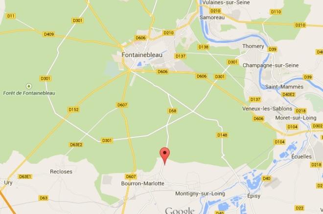 Bourron-Marlottemap