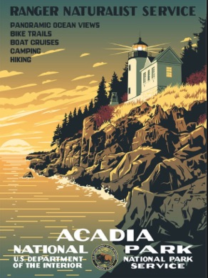 Acadia Poster